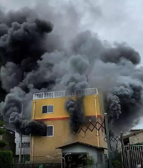 起火后吸入太多的黑烟 住宅火灾