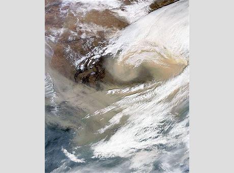 中国沙尘暴最新报道