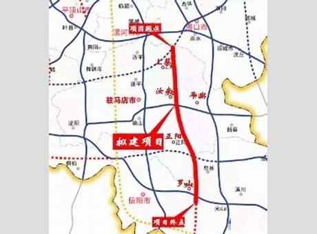 许信高速详细规划图 许昌至信阳高速最新消息